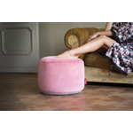 Fatboy Point Velvet pouf, deep blush