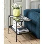 Hay Rebar sivupöytä 75 x 44 cm, musta marmori
