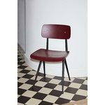 Hay Result chair, black - dark brick