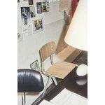 Hay Result chair, beige - matt lacquered oak