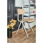 Hay Result chair, beige - lacquered oak