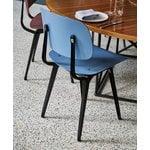 Hay Revolt chair, black - azure blue