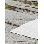 Roots Living Rock rug, light grey