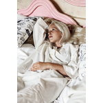 Saana ja Olli Mielenmaisemia tyynynpäällinen, 40 x 60 cm, valkoinen - musta