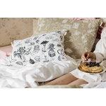 Saana ja Olli Mielenmaisemia tyynynpäällinen, 40 x 60cm, beige - valkoinen