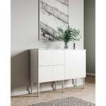 Lundia Fuuga sideboard, 128 cm, white - white
