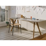 Hay Soft Edge 10 chair, matt laquered oak