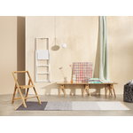 Design House Stockholm Step ladder, white stained oak
