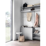 String Furniture String + metal rod, 71 cm, grey