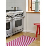 HAY Stripes and Stripes matto, 60 x 200 cm, raspberry ripple