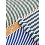 HAY Stripes and Stripes rug, 60 x 200 cm, bluebell ripple