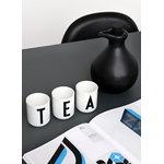 Design Letters Arne Jacobsen posliinikuppi, valkoinen, A-Z