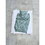 Tekla Single duvet cover, 150 x 210 cm, olive green