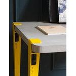 TIPTOE Pöydänjalka 75 cm, 1 kpl, keltainen