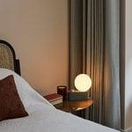 Tala Alumina table and wall lamp, sage