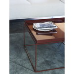 Hay Tray table large, chocolate