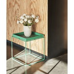 Hay Tray table medium square, peppermint