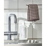 HAY Twist dishcloth and tea towel, set of 4 pcs, burgundy