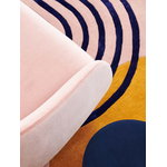 Finarte Atrium rug, pink-gold