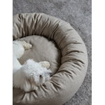 Matri Dog bed, L, ivory melange