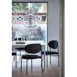 Verpan Series 430 chair, dark blue