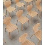Viccarbe Ears chair, matt oak