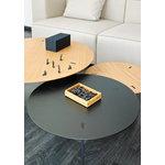 Viccarbe Ryutaro low table, 60 cm, black