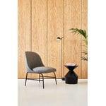 Viccarbe Shape low table O, matt black
