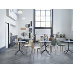 Muuto Still Cafe table 75 cm, black