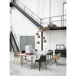 Muuto 70/70 pöytä, 225 x 90 cm, linoleum/laminaatti