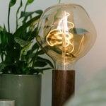 Tala Knuckle table lamp with Voronoi I bulb, walnut