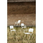 Woud Ray lounge chair, white