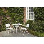 Woud Ray ruokapöydän tuoli, valkoinen