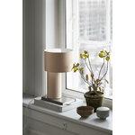 Woud Tangent table lamp, desert sand