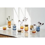 Warm Nordic Stack tealight holder, large, clear