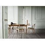 Carl Hansen & Søn CH23 chair, soaped oak - natural cord