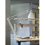 Luxo L-1 desk lamp, white