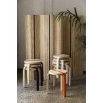 Artek Aalto stool 60 Publics, FDS 15 Years, birch - orange