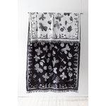 Lapuan Kankurit Aamos blanket, white - black
