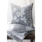 Lapuan Kankurit Aamos tyynynpäällinen 45 x 45 cm, valkoinen - harmaa