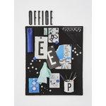 Design Letters Arne Jacobsen wooden letter, black A-Ö