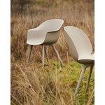 GUBI Bat outdoor dining chair, new beige