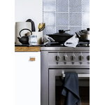 The Organic Company Kitchen towel, dark grey