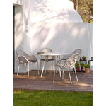 Cane-line Breeze dining chair, stackable, white grey