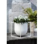 By Lassen Kubus flowerpot 23, white