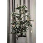 Ferm Living Leaf ornaments, set of 4, brass