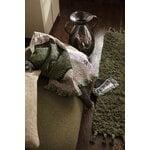 Ferm Living Amass long pile mat, 50 x 70 cm, olive