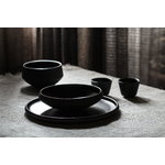 Vaidava Ceramics Eclipse bowl 0,75 L, black