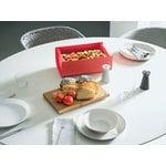 Alessi Mattina breadbox, red