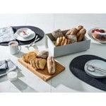 Alessi Mattina breadbox, grey